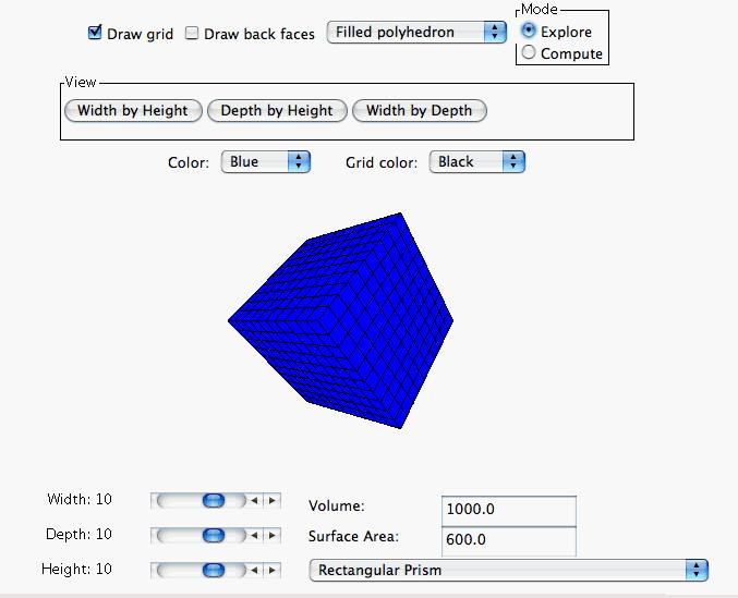 inhoud kubus berekenen online