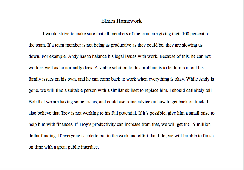 essay on productivity in the workplace